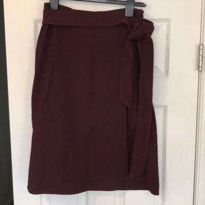 Ann Taylor ALine Skirt with Tie